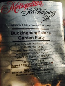 Buckingham Palace Garden Party by Metropolitan Tea Company