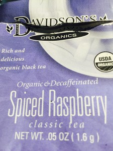 Spiced Raspberry by Davidson Tea