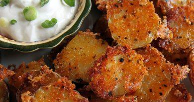 Parmesan Garlic Roasted Baby Potatoes – Recipe
