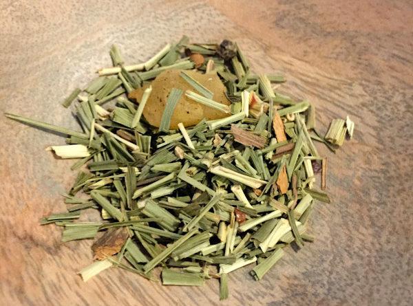 Tea Review – Spiced Lemongrass – Earth Teaze