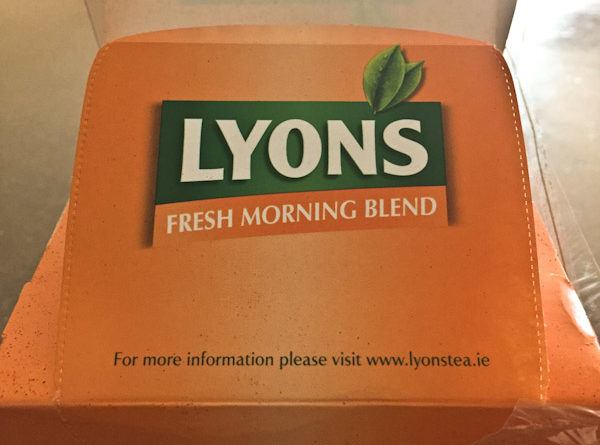 Tea Review – Fresh Morning Blend – Lyons Tea