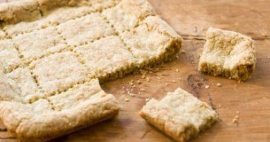Tea Recipe – Earl Grey Shortbread
