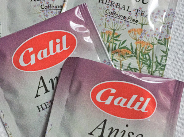 Tea Review – Galil – Anise Tea