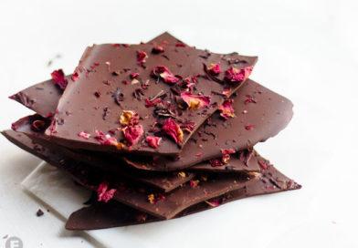 Tea Infused Dark Chocolate Bark