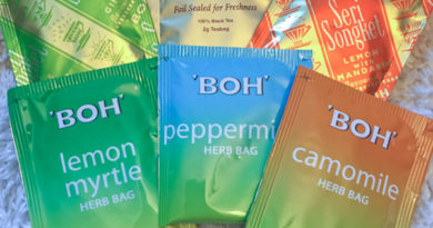 Tea Review – BOH Tea – Black Lime Ginger, Black Lemon,  Cameronian