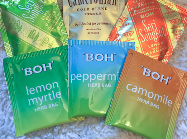Tea Review – BOH Tea – Black Lime Ginger, Black Lemon,  Cameronian