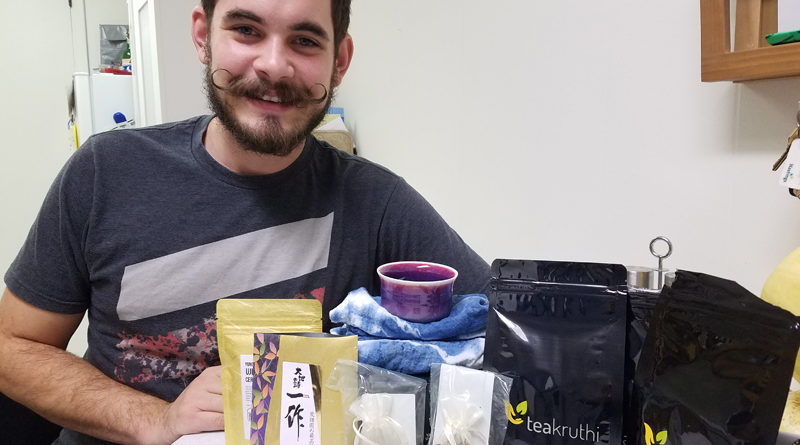 A Man, A Mustache and A Happy Tea Winner