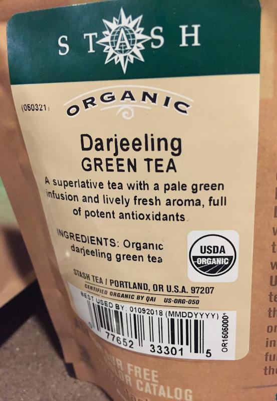 Stash Tea – Organic Darjeeling Green